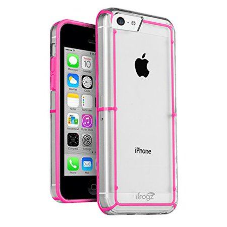 Ifrogz Wrapz Case (iFrogz LiveWire Case for iPhone 5C - Retail Packaging - Pink/Gray)