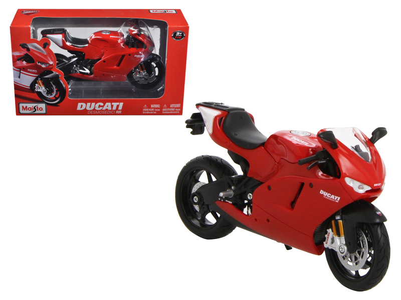 Ducati Desmosedici RR Red Motorcycle Red 1 12 Diecast Model by Maisto by Maisto