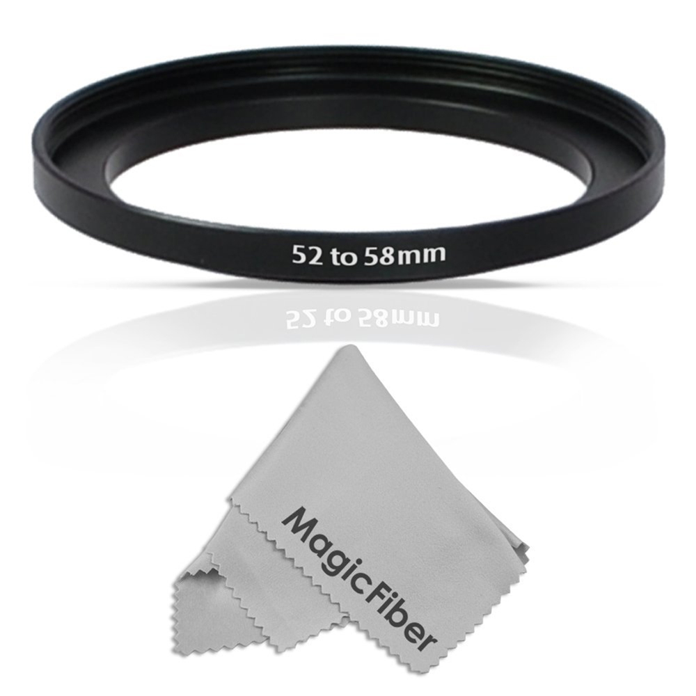 Altura Photo 52-58MM Step-Up Adapter Ring (52MM Lens to 58MM Accessory)