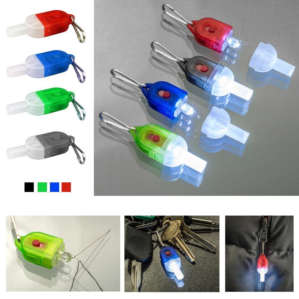 1 LED Lighted Needle Threader Small Portable Illuminated Sewing Tools Travel New