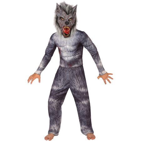 Childs Muscle Top Werewolf Boys Costume - Wearwolf Costume