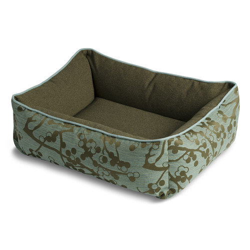Crypton Bumper Style Cherries Donut Dog Bed