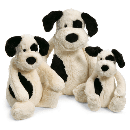 Jellycat Bashful Black & Cream Puppy Huge (Jellycat Cow)
