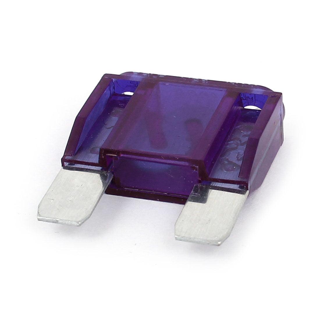 Unique Bargains Purple Plastic Casing 100A 32V Standard ATC/ATO Blade Fuse for Auto Car Truck
