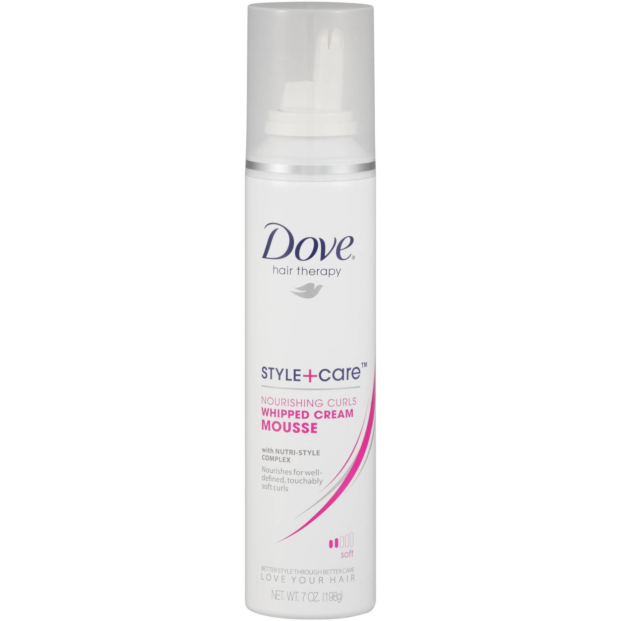 Dove Curls Defining Mousse, 7 oz