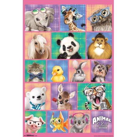 - Animal Club- Hip Group Poster - 22x34