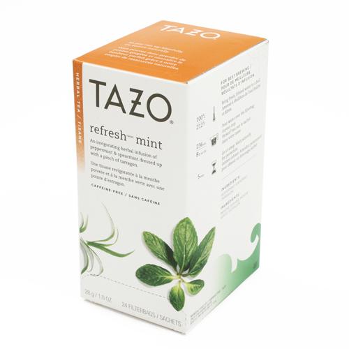 Tazo Refresh Herbal Tea - 24 Bags