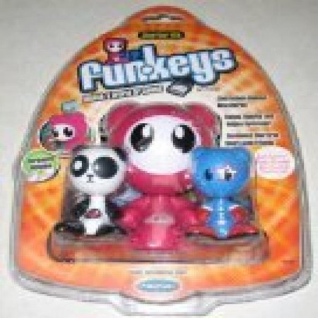 Funkeys Starter Pack (Pink) with Lotus & Vroom