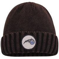 Orlando Magic Mitchell & Ness Current Logo Ribbed Knit Hat - Brown - OSFA