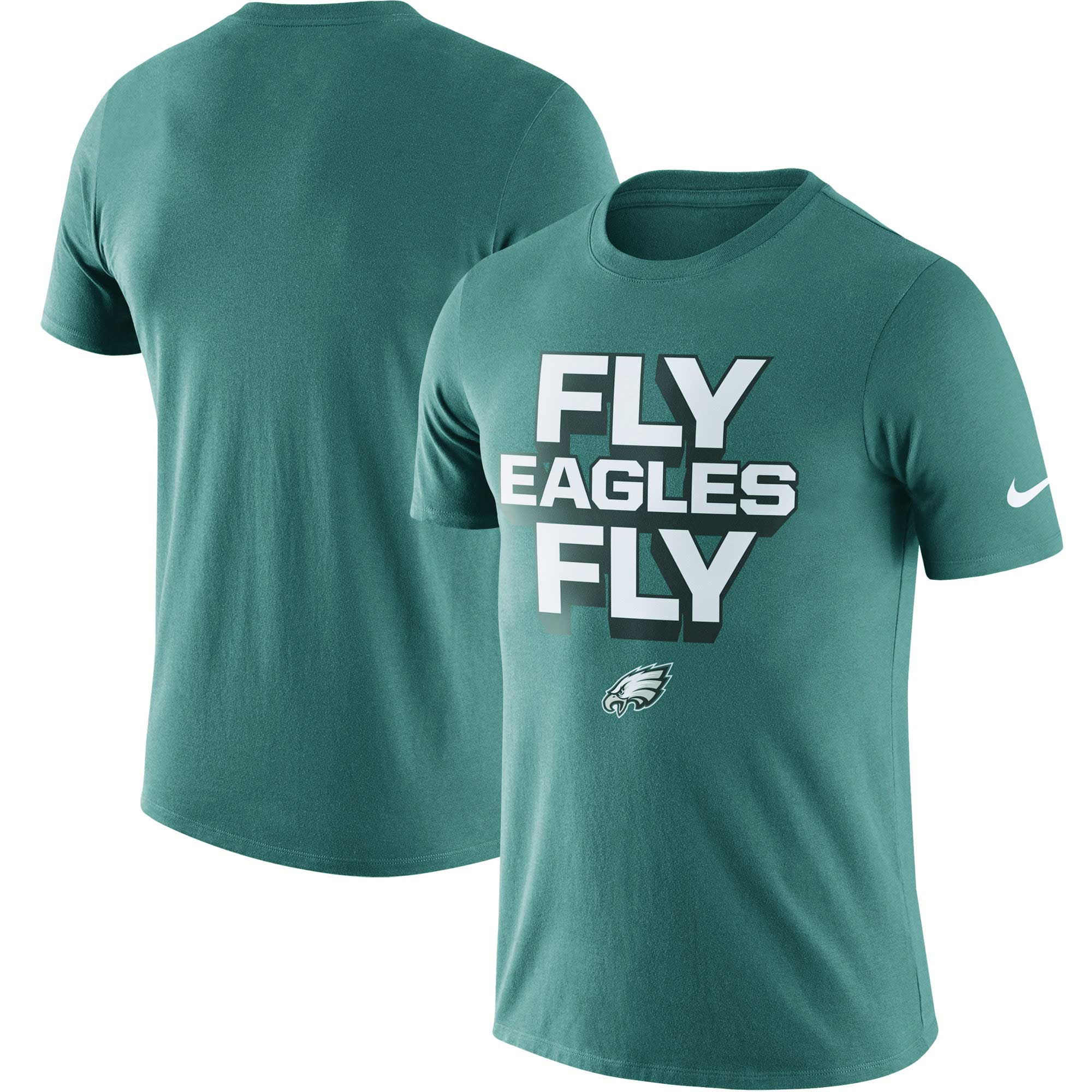 Philadelphia Eagles Nike Local Lockup Performance T-Shirt - Midnight Green
