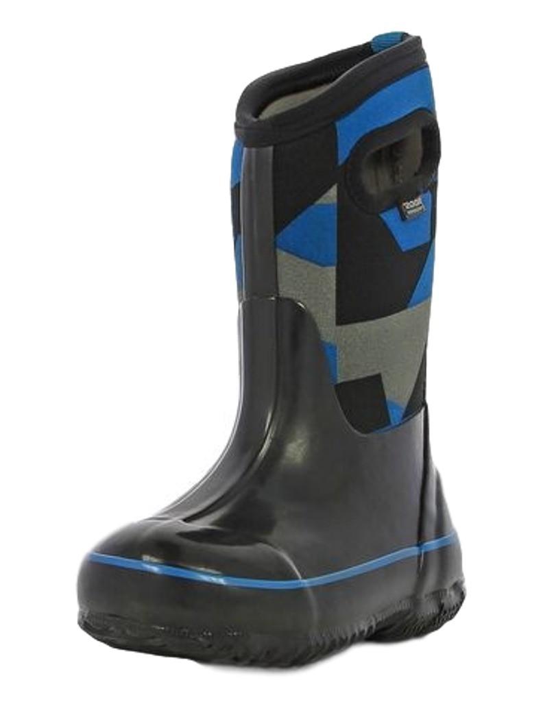 Bogs Boots Boys Kids Classic Geo Pull On Waterproof Rubber 71996 by Bogs