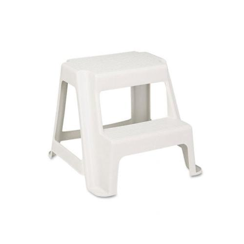 Rubbermaid Two-Step Stackable Economy Step Stool RCP42221