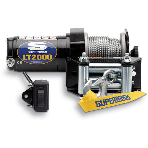 Superwinch 12V DC Utility Winch with Spooling Clutch