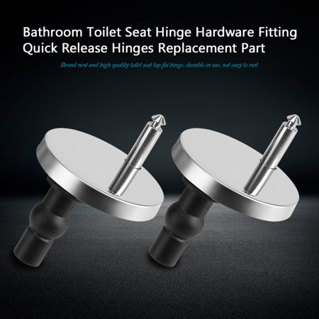 Superb Hilitand 1 Pair Bathroom Toilet Seat Hinge Hardware Fitting Quick Release Hinges Replacement Part Toilet Lid Hinge Toilet Seat Hinges Evergreenethics Interior Chair Design Evergreenethicsorg