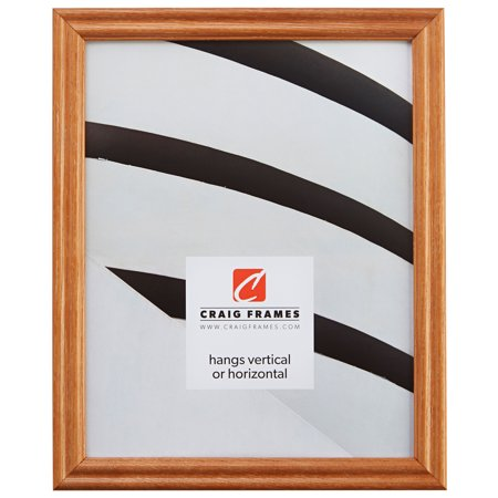 15 Inch Open Frame (Craig Frames Wiltshire 200, Traditional Light Brown Hardwood Picture Frame, 11 x 15)
