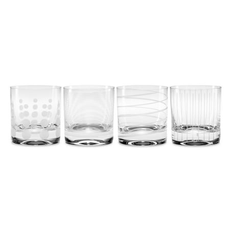 mikasa cheers 4-pc. double old fashioned glass (Mikasa Fish)