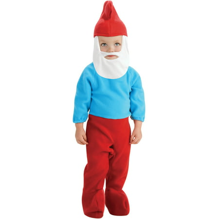 The Smurfs Baby Papa Smurf Young Children's Costumes (Papa Smurf Costumes)