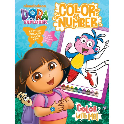 Bendon Publishing Intl Dora Color by Number Book with Foil Book by Bendon Publishing Intl