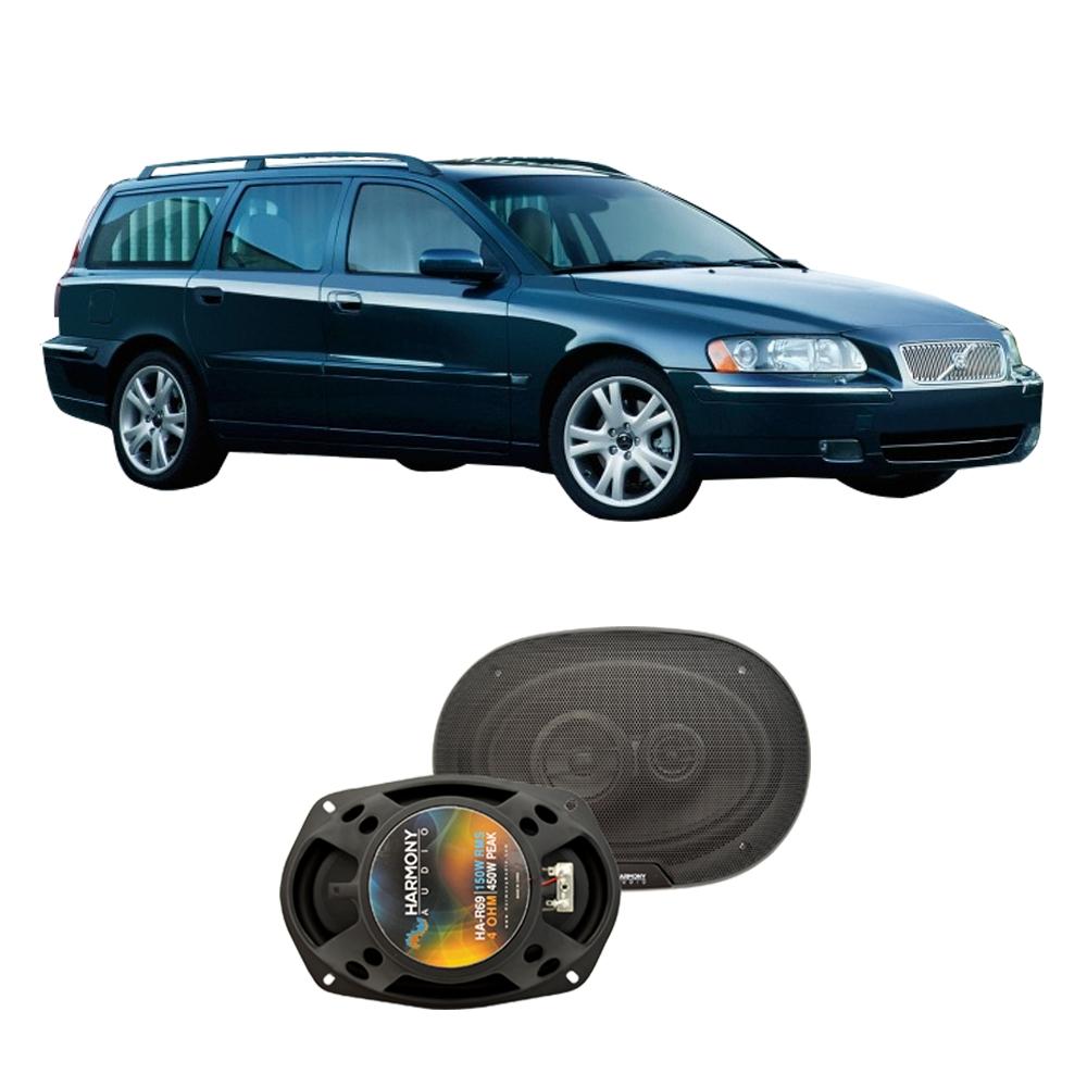 Fits Volvo V70 2005-2007 Rear Deck Replacement Speaker Harmony HA-R69 Speakers
