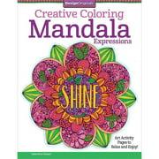Design Originals Creative Adult Coloring Mandala Expressions
