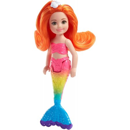 Barbie Dreamtopia Small Mermaid Doll with Comb Hidden in Her Fin (Blue Mermaid Doll)