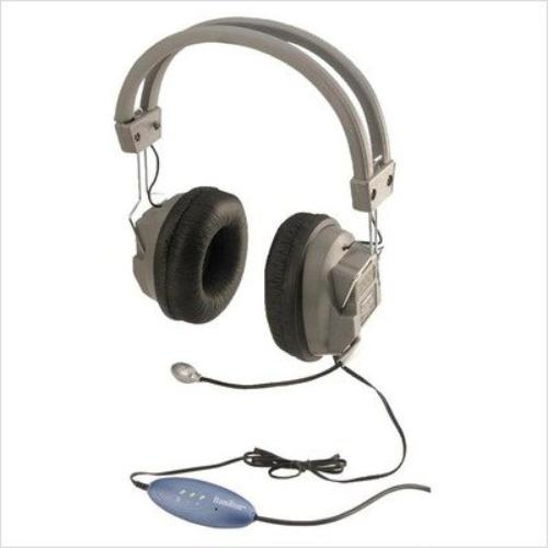DELUXE SCHOOLMATE HEADPHONE W/ MIC