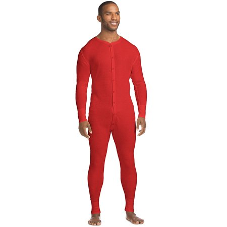 Hanes X-Temp Men's Organic Cotton Thermal Union Suit 14530