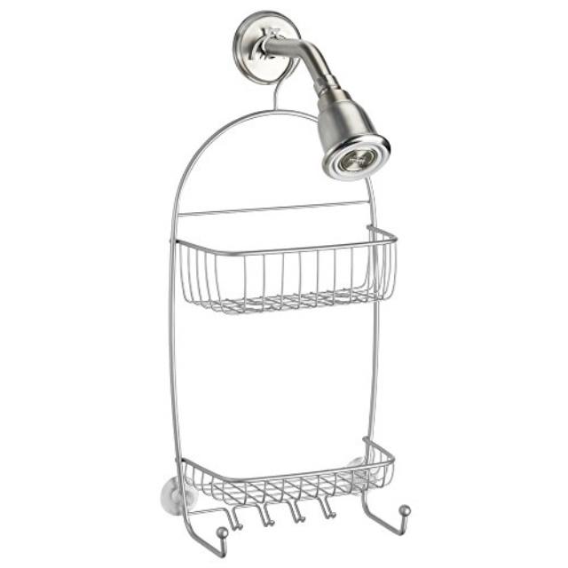 Interdesign Raphael Bathroom Shower Caddy Tall Silver Walmartcom