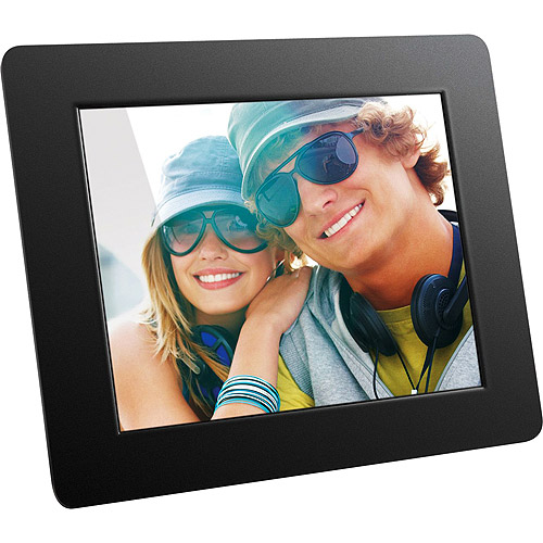 "Aluratek 8"" Digital Photo Frame with Auto Slideshow Feature (800 x 600 resolution, 4:3 Aspect Ratio)"