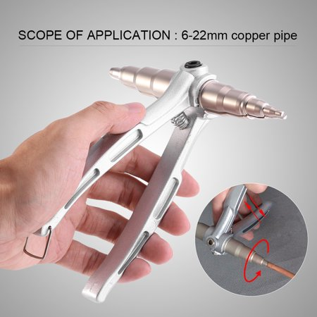 Yosoo Stainless Steel Manual Copper Tube Expander Air Conditioner Maintain Repair Hand Expanding Tool, Tube Expanders, Copper Tube Expander - image 6 of 8