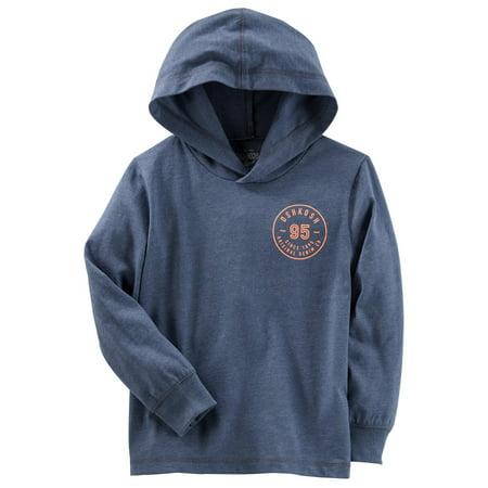 Softball Kids Pullover - OshKosh B'gosh Little Boys' Logo Pullover, Blue, 4-5 Kids
