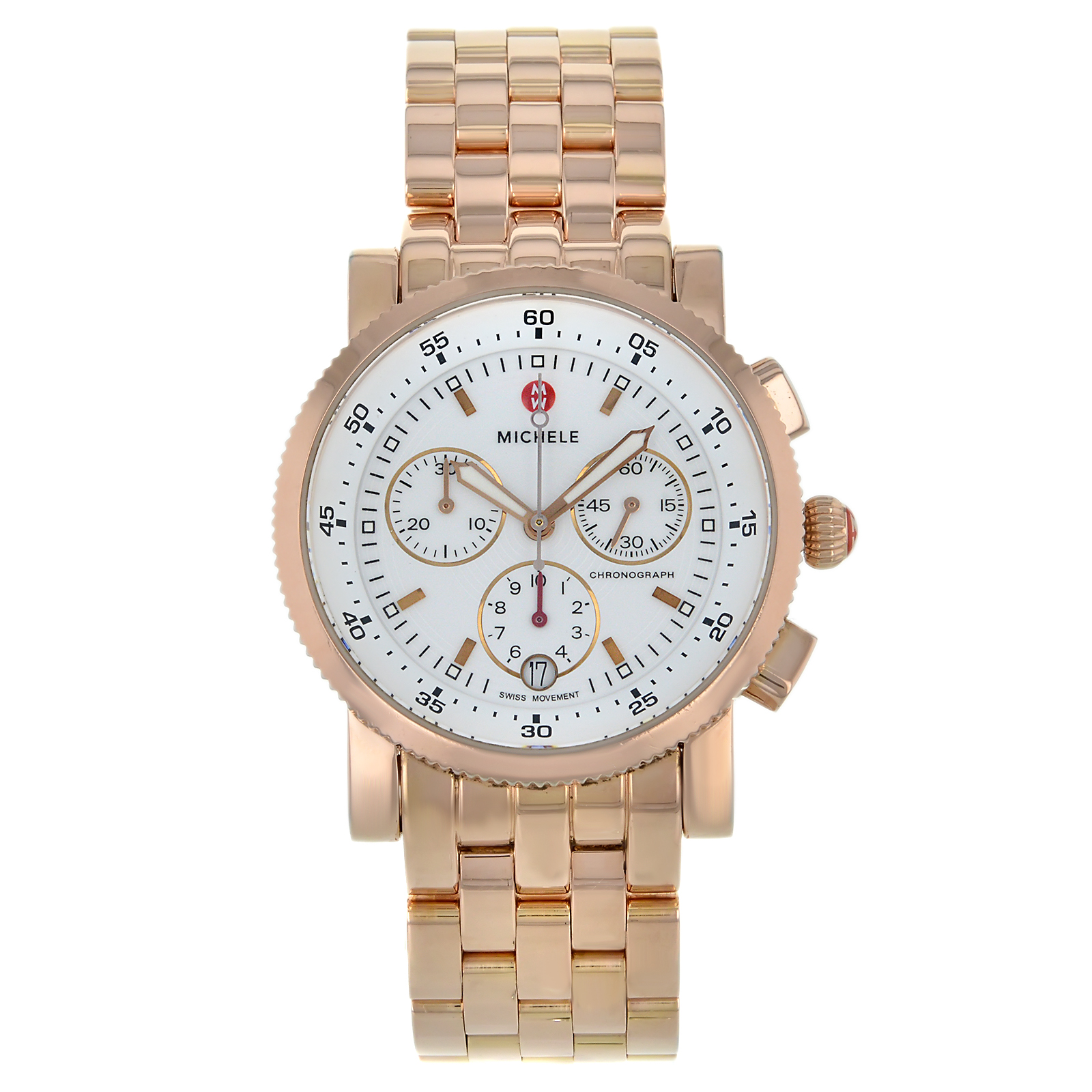Michele Watches Certified Pre-owned Michele Sport Sail Cl...