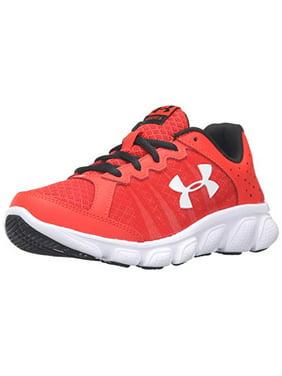 43135f2b2dcf4 Product Image Under Armour Boy's Boys' Pre-School Assert 6 Shoe, Anthem Red  / White