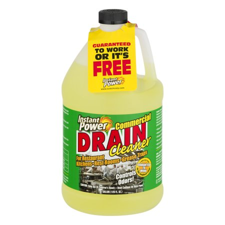 Instant Power Commercial Drain Cleaner 1 0 Gal Walmart Com