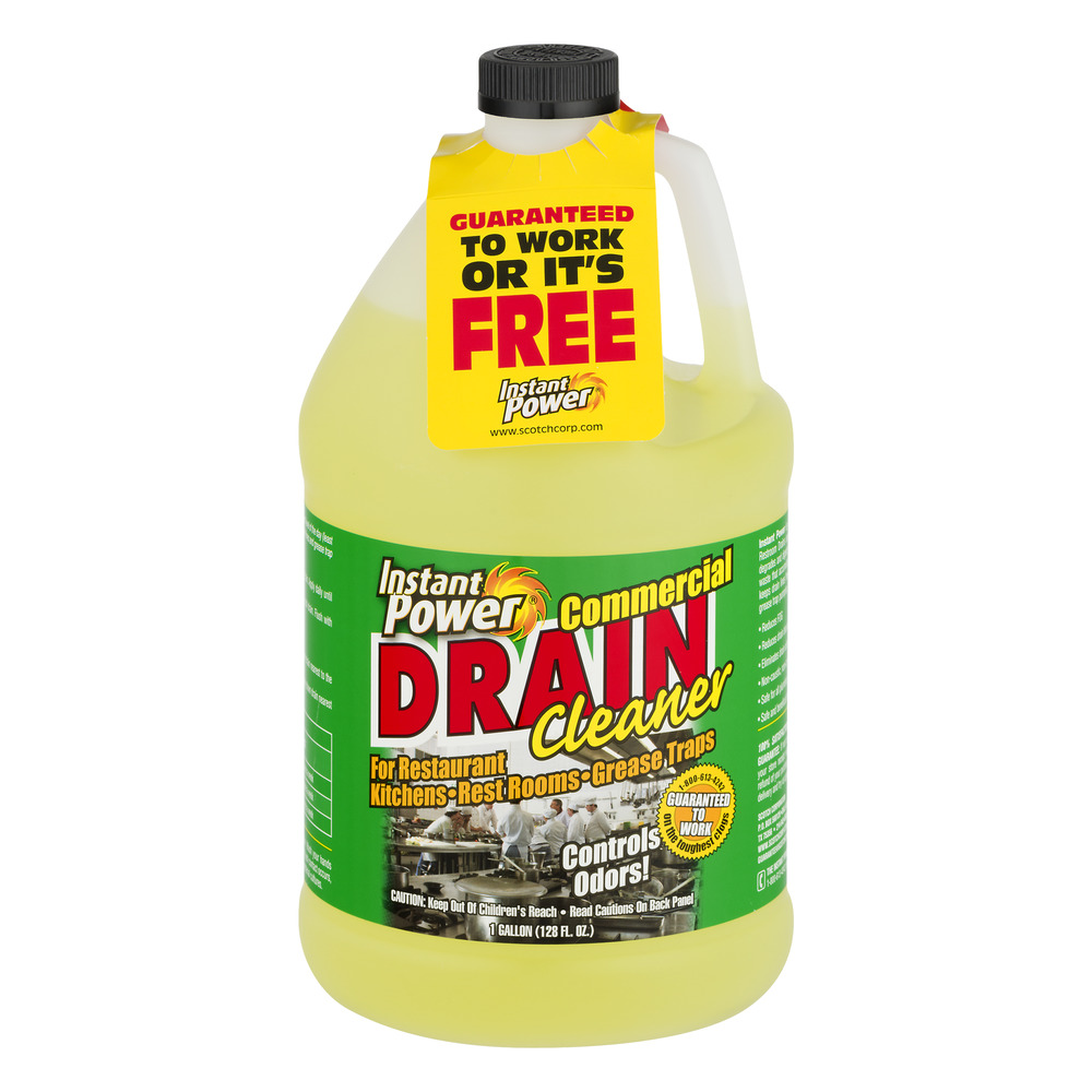 Instant Power Commercial Drain Cleaner, 1.0 GAL