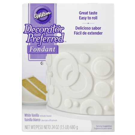 Wilton Decorator Preferred White Fondant, 24 oz. Fondant