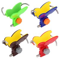 WALFRONT Universal Fishing Rod Holder Rest Head Gripper Tackle Accessory for Bank Stick Buzz Bar