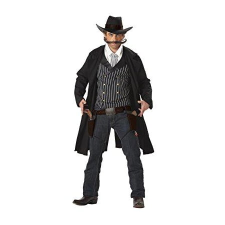 Western Cowboy Clint Eastwood Gunfighter Gun Slinger Halloween Costume Mens](Western Couples Costumes)