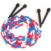 K-Roo Sports 16-foot Double Dutch Jump Ropes with Plastic Segments, 2-pack