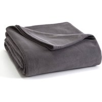 Vellux Super Soft Lightweight Microfleece Bed Blanket, Multiple Sizes & Colors