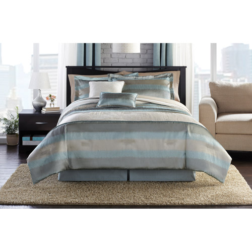 Hometrends Aqua Mist Bedding Comforter Set