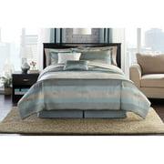 Hometrends Aqua Mist Bedding Comforter Set, Full