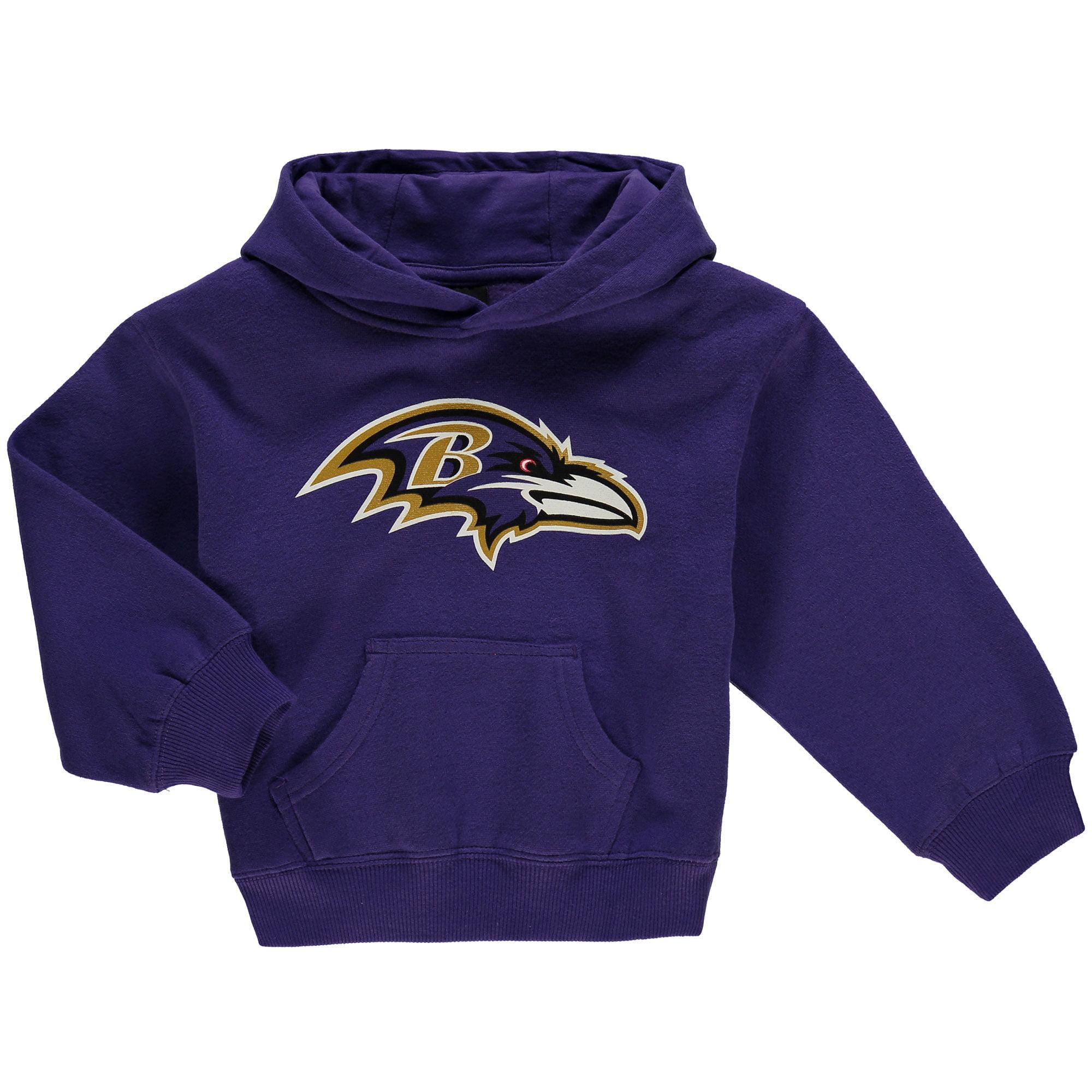 Baltimore Ravens Preschool Team Logo Pullover Hoodie - Purple