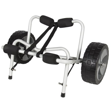 Boat Kayak Canoe Carrier Dolly Trailer Tote Trolley Transport Cart Wheel New