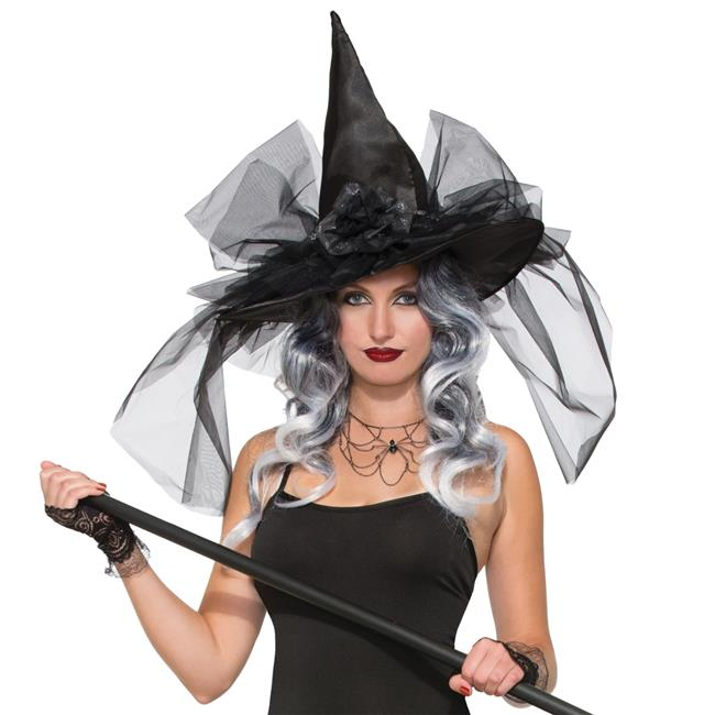 Morris Costumes FM76625 Witch Hat Fancy Deluxe Costume