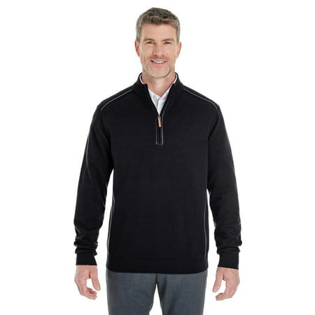 65d74faf5053 Devon   Jones Men s Manchester Fully-Fashioned Quarter-Zip Sweater - image  ...