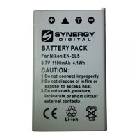 nikon coolpix p500 digital camera battery (1100 mah) - replacement for nikon en-el5