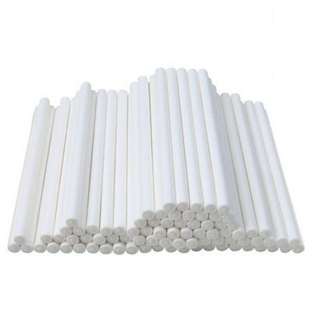100pcs 15CM Plastic Lollipop Sticks Candy Cake Chocholate Sugar Paste Tools (Plastic Lollipop Sticks)