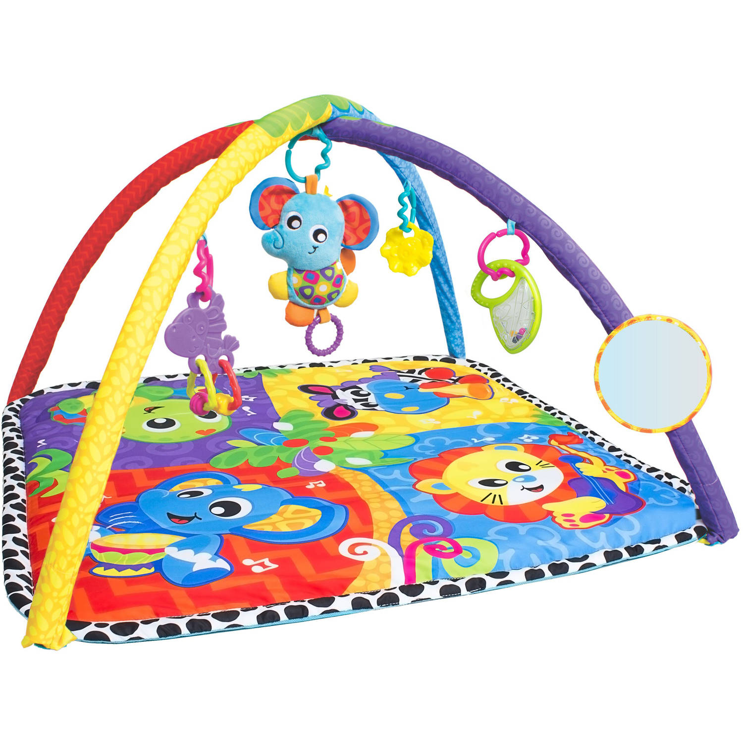 Playgro Music in the Jungle Activity Gym for Baby/Infant/Toddler