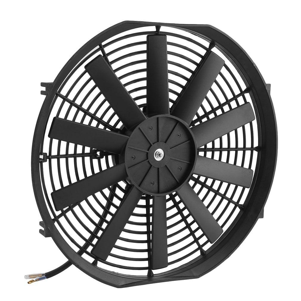 14 Inch Straight Blade Car Slim Fan Push Pull Electric Radiator
